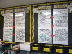 After taking this picture, I labeled each notebook paper as a different step in the writing process (Step 1: Plan, Step 2: Draft, etc.) from Write on Fourth Grade blog