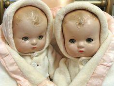 Darling Effanbee Patsy Babykin Twins