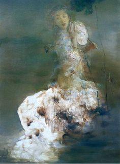 Hu Jun Di - Contemporary Chinese painting.