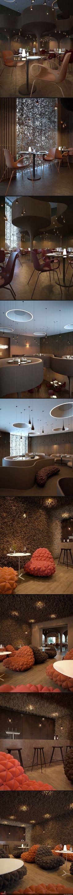 diseño de restaurante
