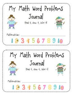 Math journal for small group or use as morning work.