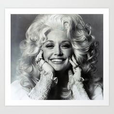 Dolly Parton Art Print by resistmedia | Society6