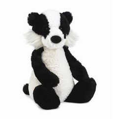 "Jellycat Woodland Badger 12"" by Jellycat, http://www.amazon.com/dp/B006VRLHNA/ref=cm_sw_r_pi_dp_GDNfqb1X09EJ7"