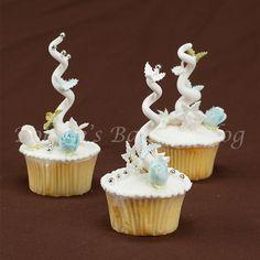 Whimsical Christmas Tree Cupcakes