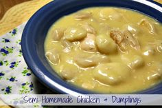 Mommy's Kitchen: Chicken & Dumpling's {Semi Homemade}