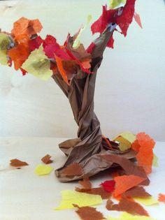 Fairy Dust Teaching Kindergarten Blog: 3D seasonal trees love this so simple
