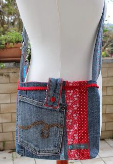 Tasche aus Lieblingsjeans / Bag made from favourite jeans