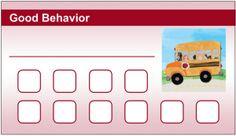 For Good Bus Behavior!