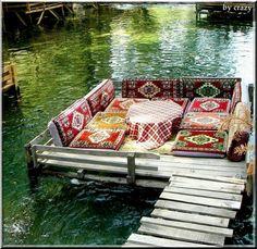 outdoor cushions, alanya, lake, hous, turkey