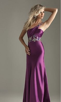 evening dresses, ball gowns, formal dresses, bridesmaid dresses, evening gowns, purple prom dresses, the dress, one shoulder, stunning dresses