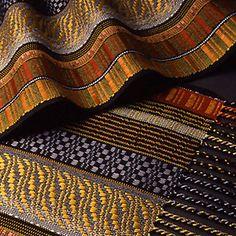 Juanita Girardin I love her work, esp. the different weave structures across the warp.
