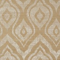 Conesus printed grasscloth wallpaper in Dune via Holland & Sherry