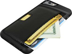 The Q Card Case for iPhone 6 by CM4 is an ultra slim iPhone 6 wallet case that fits 3 credit cards plus cash in a protective soft-touch and fabric case.