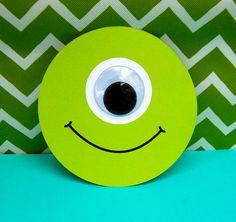 Monsters Inc invitation - so cute!   Beth Kruse Custom Creations