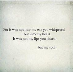 kiss, lip, ear, soul mates, tattoo quotes, inspir, beauti, a tattoo, love quotes