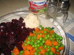 Another recipe for Peruvian red beet salad.