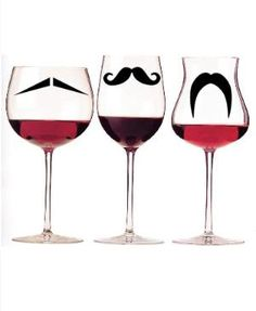 I mustache you for some wine.
