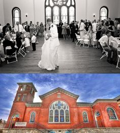 LINDSAY ST HALL - Chattanooga wedding venue