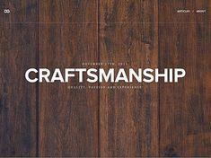 50 of the best masculine web designs || davegamache.com - Dave Gamache: Designer & Adventurer