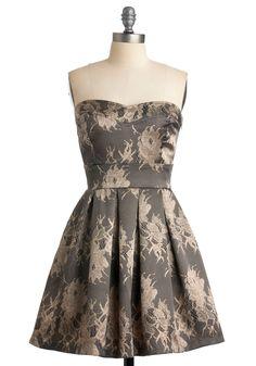 Champagne by Starlight Dress | Mod Retro Vintage Dresses | ModCloth.com