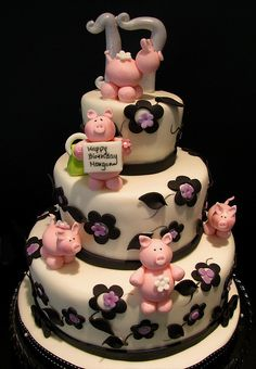 piggy cake, pig pig, cake idea, birthdays, weddingbirthdaybabi cake, piggi parti, parti idea, piggi birthday, birthday cakes