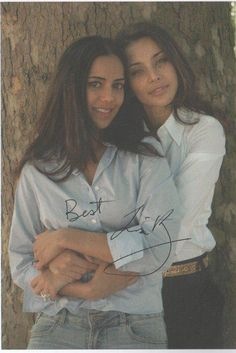 Sheetal Sheth and Lisa Ray from the movie I Can't Think Straight. <3    How lovely, with that chemistry! :)