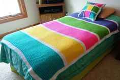 Crochet Blanket- my kids would love these!