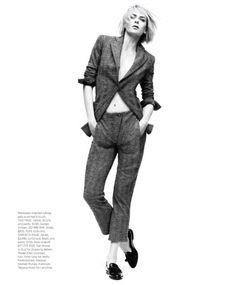 Elise Crombez by Nathaniel Goldberg for Harper's Bazaar June 2012
