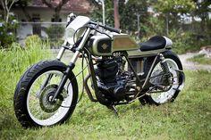 """Kawasaki KZ200 """"12th Attempt"""" by Darizt Design, Jogjakarta"""