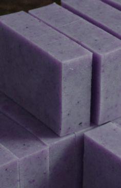Natural Lavender Soap Recipe ~ Lovely Greens