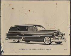 1952 Pontiac hearse