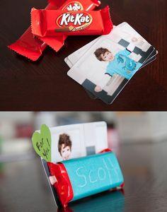 photo card valentine