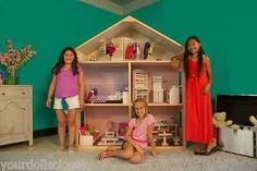 My Girls Dollhouse 3 Story 5 Room Dollhouse Fits American Girl Dolls Sold Out