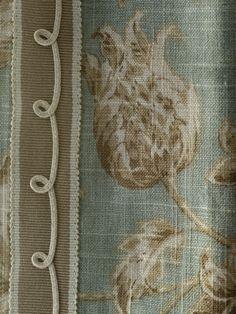 Curtain detail by Matthew Patrick Smyth