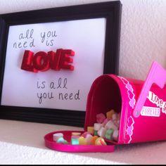 cheap DIY Valentine's crafts