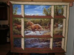 panel into an attic window quilt