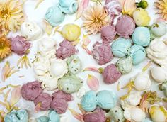 Ice cream and flowers – Amy Merrick and Parker Fitzgerald
