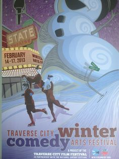 Traverse City Winter Comedy Festival brought to you by #tcff #comedy #fun