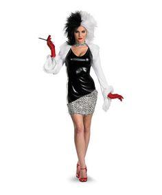 Look at this #zulilyfind! Cruella De Vil Dress-Up Set - Women #zulilyfinds