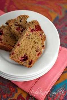 Gluten free cranberry bread ...