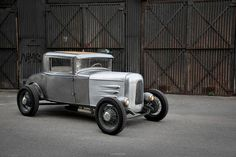 bare metal hot rod by REVOLVER Imaging Co