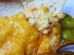 """Buffalo Chicken Dip ~ """"The"""" Tailgate Food! :)"""