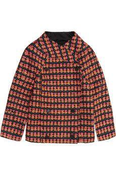 J.Crew Collection Neon tweed jacket | NET-A-PORTER