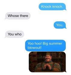 hahahaha. LOVE Frozen!