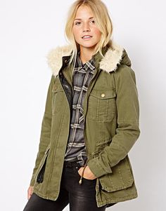 love this chic military jacket