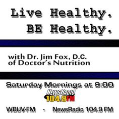 Live Healthy. BE Healthy. - NewsRadio 104.9FM...Your local news station - 24 hours a day!