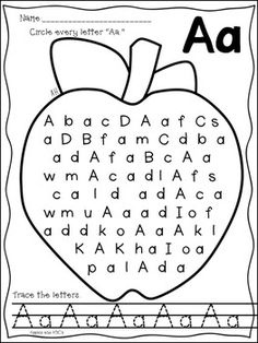 LETTER A {LETTER OF THE WEEK}
