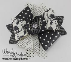 Luvin Stampin: Stampin' UP! Gift Bow Bigz L Die