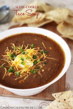 Slow-Cooker Taco Soup