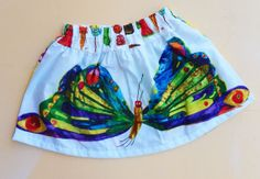 Very Hungry Caterpillar Butterfly Skirt by WildOliveKids on Etsy, $24.00